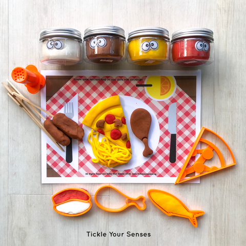 Foodie Playdough Kit