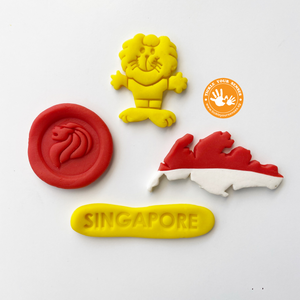 Singapore Heritage Playdough Cutters Collection II