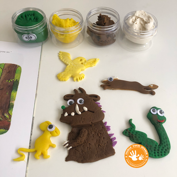 The Gruffalo Playdough Book Kit
