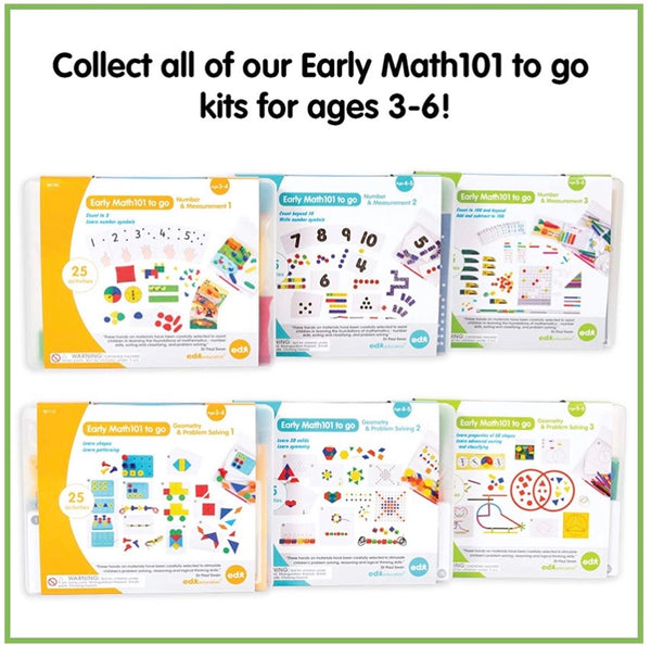 Early Math 101 Geometry & Problem Solving *Level 3* Set