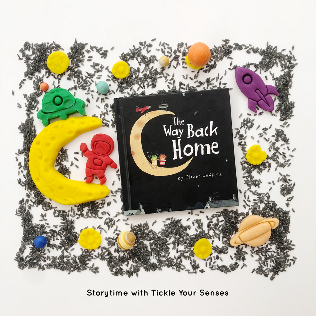 "NOVEMBER Storytime at The Playfair - 'Way Back Home"" by Oliver Jeffers 24 Nov"