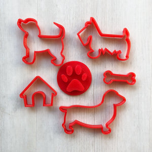 Doggy Playdough Cutters