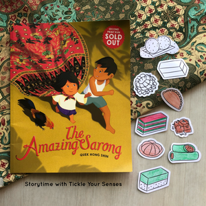 "Storytime at Liliewoods Social - 'The Amazing Sarong"" by Quek Hong Shin 25 August"