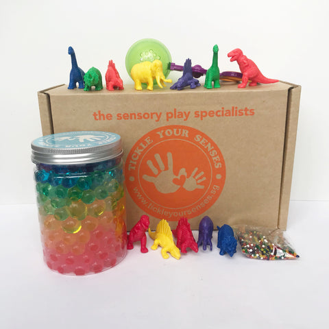 Rainbow Dinosaurs Waterbeads Kit