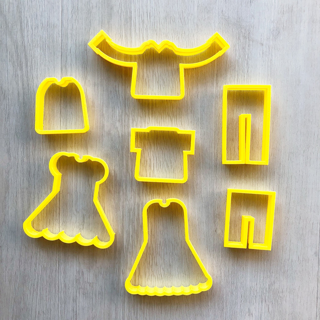 Dress-Up Playdough Cutters