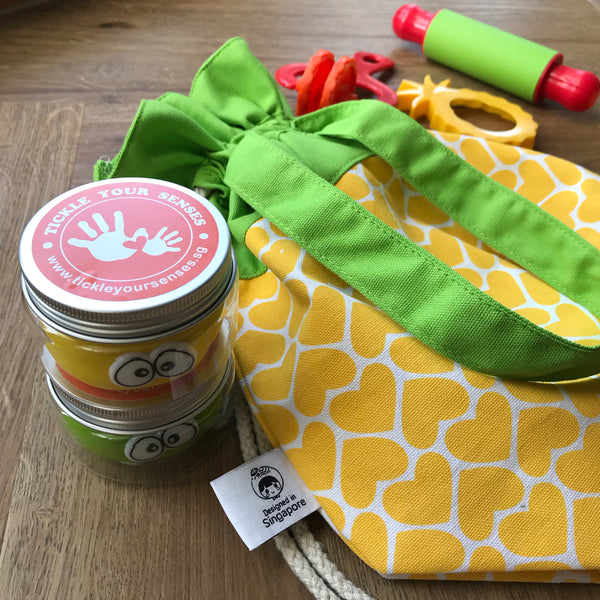 Huat Ah! Pineapple Playdough Tote Bag Set