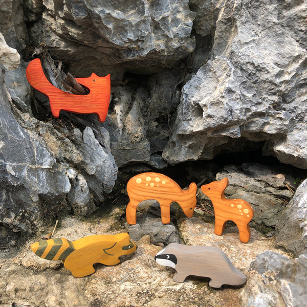 Mikheev Forest Animals Set of 5