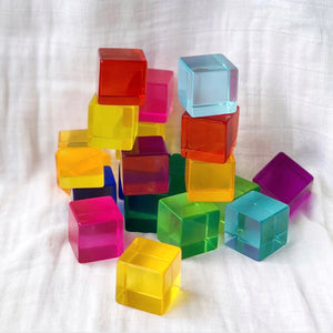 Bauspiel Lucent Acrylic Cubes (20 pieces) *SIGNATURE item*