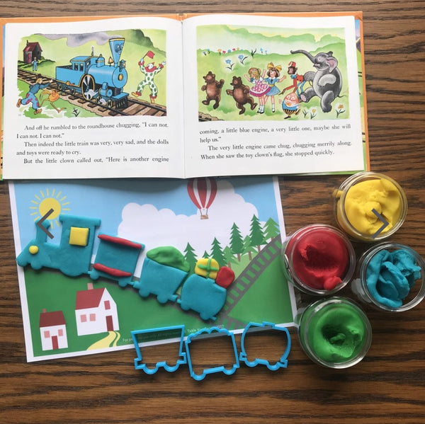 Train Playdough Cutters