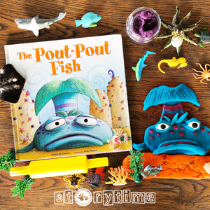 APRIL Storytime at Liliewoods Social - 'The Pout Pout Fish""
