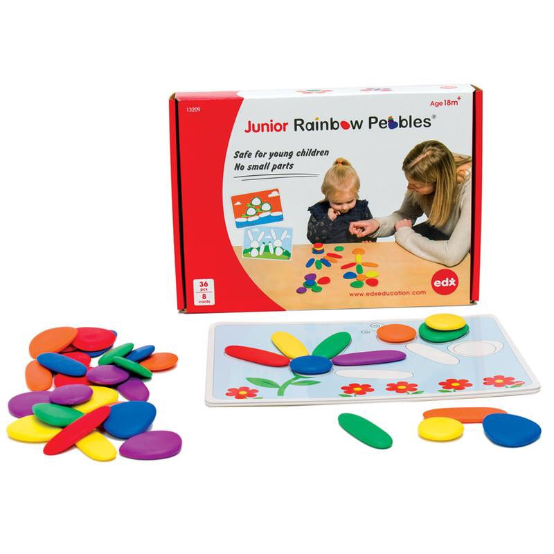 Junior Rainbow Pebbles Activity Set
