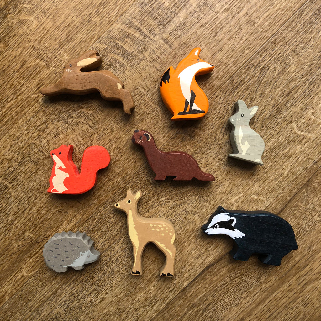 Woodland Animals Set (Lovely Set of 8)