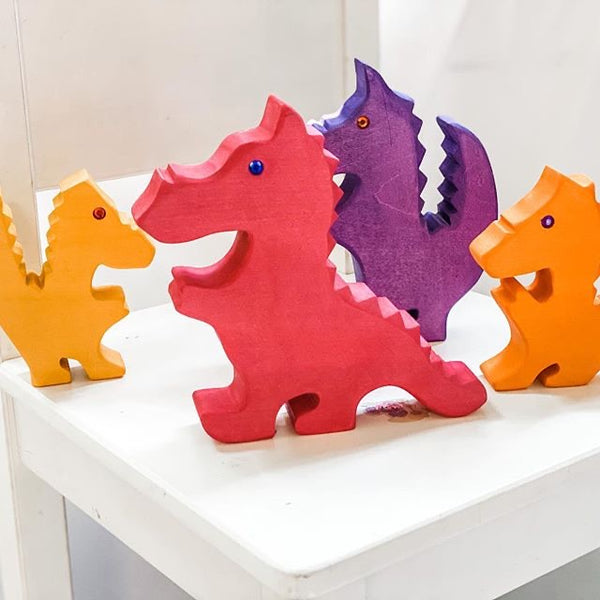 Bauspiel Red Dragons w Jewels (Set of 5) *In Stock*
