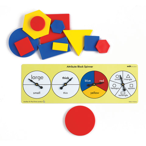 Attribute Block Activity Set (teaching Geometry)