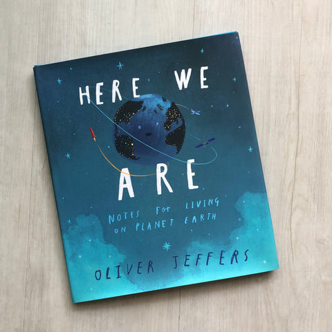 "*Pre-Order* ""Here We Are"" by Oliver Jeffers"