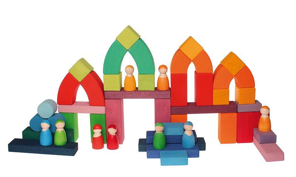 Grimms Romanesque Building Set *classic beauty* *In Stock*
