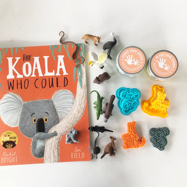 """The Koala Who Could"" Playdough Book Kit"