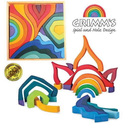 Grimms Four Elements Large Building Set