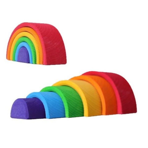 Grimms 6 piece SMALL Rainbow (Bright) *ETA Nov*