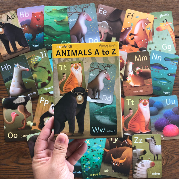 Animals A-Z Cards (local designer!)