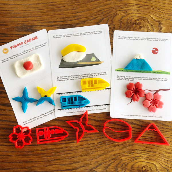 Yokoso Japan! Playdough Kit