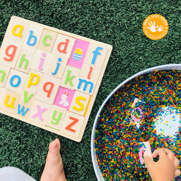 Tactile Lower Case ABC Puzzle