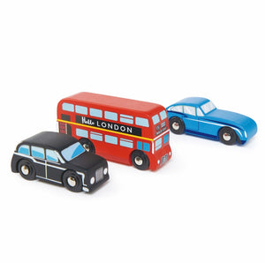 Great Britain London Cars Set