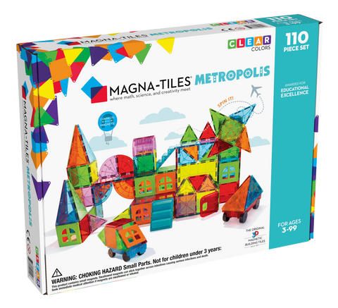 MAGNATILES METROPOLIS 110 Piece Set *latest design* *new in store*
