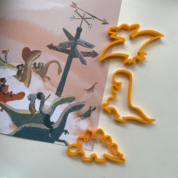 'The Girl and the Dinosaur' Playdough Book Kit