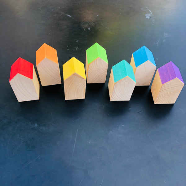 Ocamora Rainbow Roof Houses 🌈