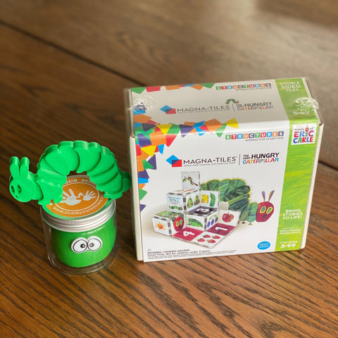 Eric Carle Hungry Caterpillar Dough & Tiles Gift Set