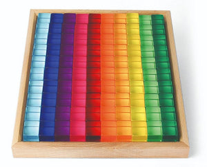 Bauspiel Lucent Acrylic Cubes (100 pieces) *SIGNATURE item*