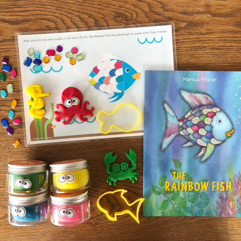 """The Rainbow Fish"" Playdough Book Kit"