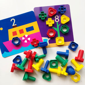 Nuts & Bolts Activity Set