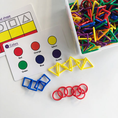 Shape Links Activity Set