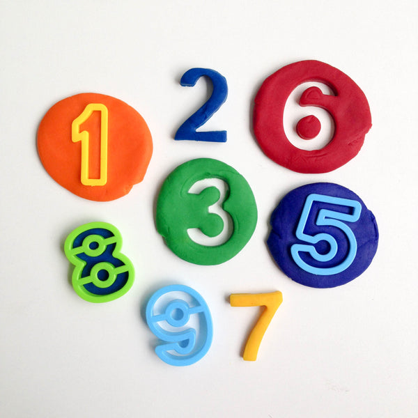 Numbers Playdough Kit