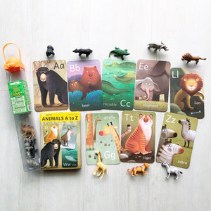 Animals A-Z Cards