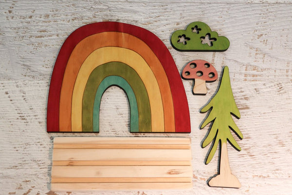 Story Scene - Rainbow Set w/ Stand included