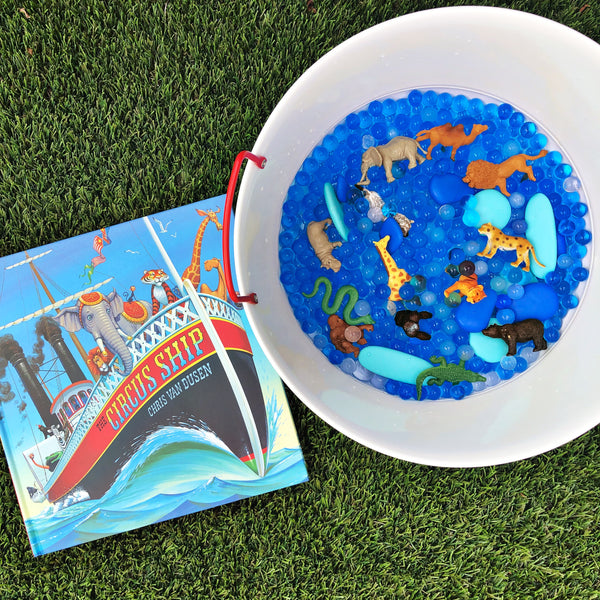 """The Circus Ship"" by Chris Van Duden Waterbeads Book Kit"