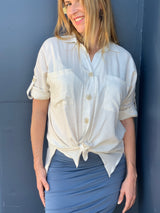 Coconut shirt - Breastfeeding Wear Australia