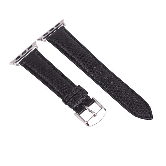 Genuine Lizard Leather Watch Band With Buckle - jranter