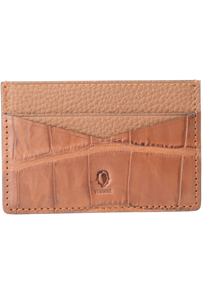 Jranter Real Croc Skin Leather Card Holder - jranter