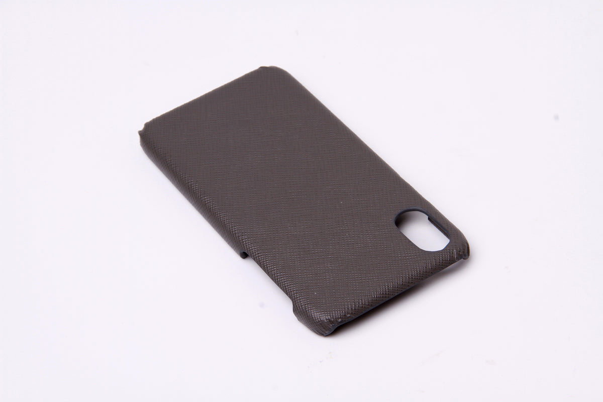 Leather iPhone X Case - jranter