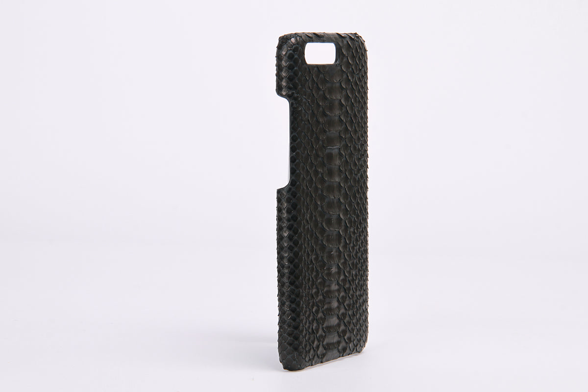 Black Real Python Leather Phone Case For HuaWei P10 - jranter