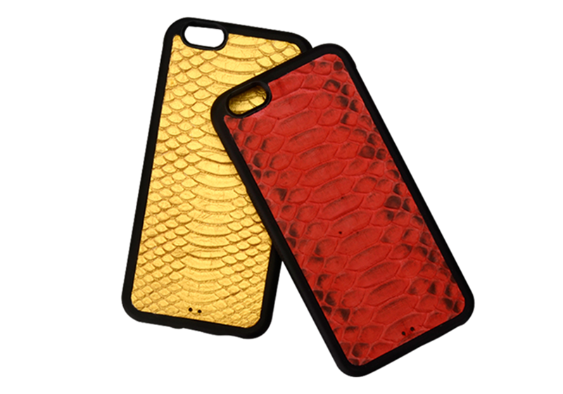 Jranter Real Python Skin For iPhone 7 Case