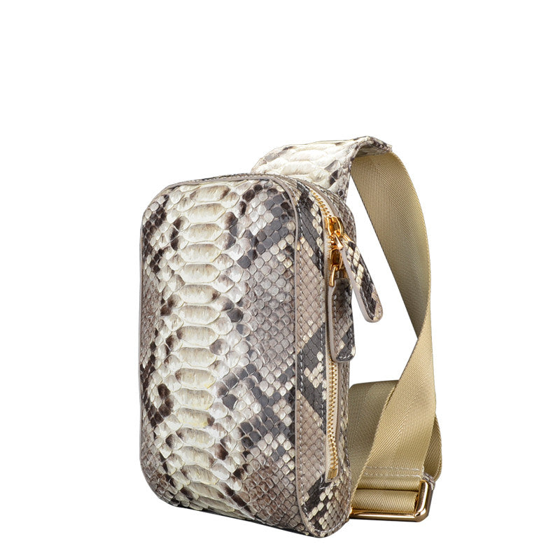 Men Small Python Bag - jranter