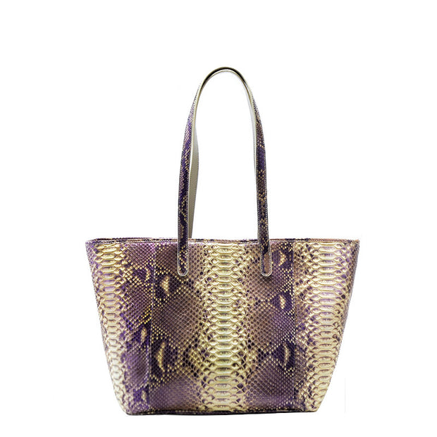 Women Python Neverfull Tote Bag