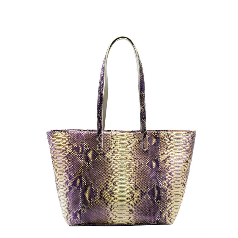 Women Python Neverfull Tote Bag - jranter