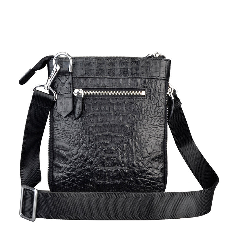 Black Men Zipper Bag - jranter