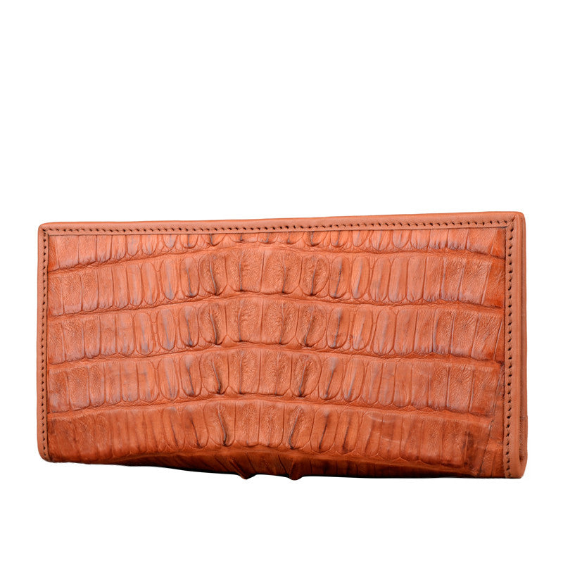 Men Crocodile Long Wallet - jranter
